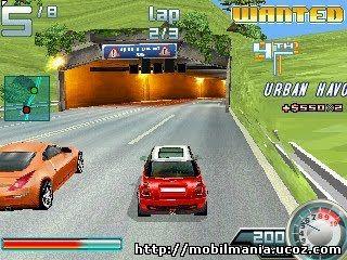 Asphalt 4 Elite Racing HD nokia s60v3 - Nokia Játékok - Nokia